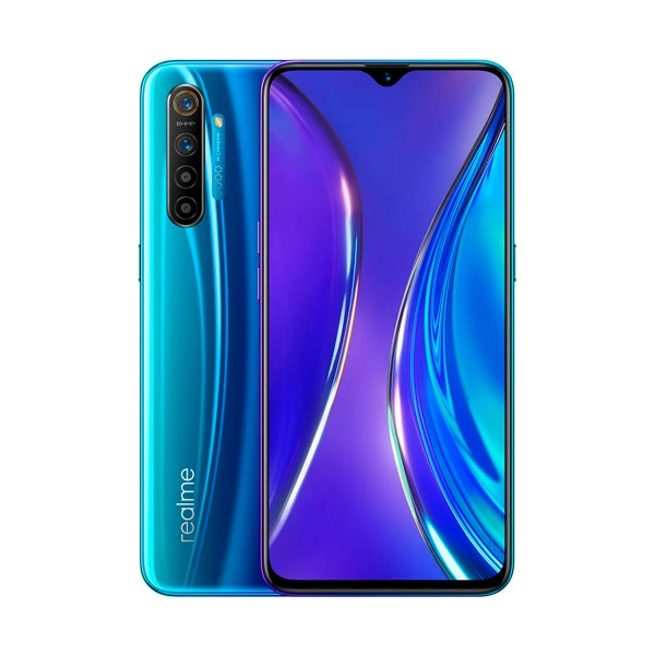 Realme x2 azul perla móvil 4g dual sim 6.4'' fhd+ octacore 128gb 8gb ram quadcam 64mp selfie 32mp