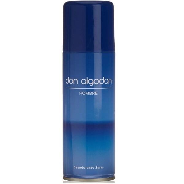 Don Algodón desodorante spray Hombre 150 ml