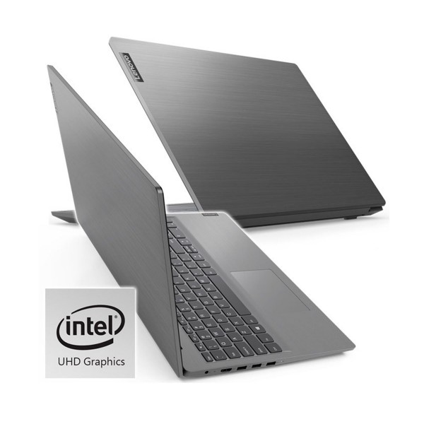 Lenovo v15 gris portátil 15.6'' lcd led hd i3-1005g1 512gb-m2 8gb ram windows 10 home