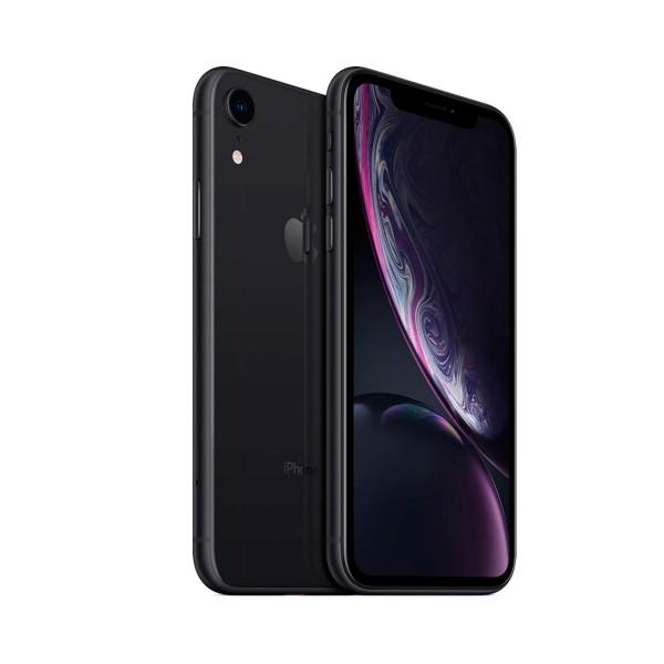 Apple iphone xr 128gb negro reacondicionado cpo móvil 4g 6.1'' liquid retina hd led hdr/6core/128gb/3gb ram/12mp/7mp