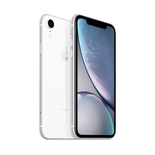 Apple iphone xr 64gb blanco reacondicionado cpo móvil 4g 6.1'' liquid retina hd led hdr/6core/64gb/3gb ram/12mp/7mp